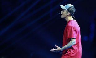 Justin Bieber aux MTV EMA's à Milan le 25 octobre 2015