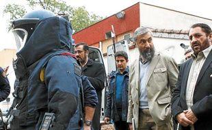Les  dirigeants afghans ont pris un cours de déminage à la française.