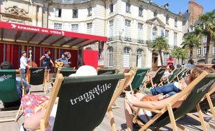 Pendant tout l'été, le festival Transat en Ville proposera des concerts et spectacles gratuits à Rennes.