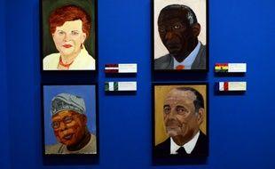 Portraits d'anciens dirigeants peints par George W. Bush, le 4 avril 2014.