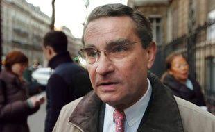 FrançoisLebel, maire UMP du 8e arrondissement de Paris, le 2 février 2008 à Paris.