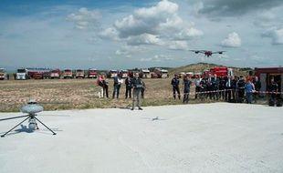 Les sapeurs pompiers des bouches-du-Rhône s'équipent de drones