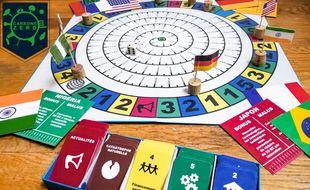Deux étudiants lyonnais lancent le jeu Carbone Zéro pour éveiller les consciences au changement climatique.