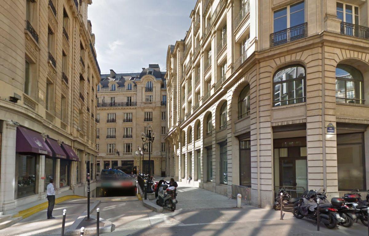 Pôle financier du tribunal de Paris – Google street view