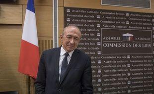 Le ministre de l'Intérieur Gérard Collomb lors de son audition à l'Assemblée nationale, le 23 juillet 2018.
