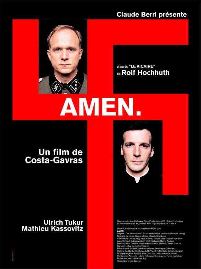 Affiche du film Amen de Costa-Gavras