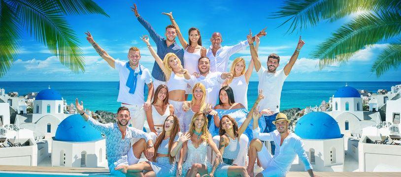 Les candidats des «Vacances des Anges 2», en Grèce.
