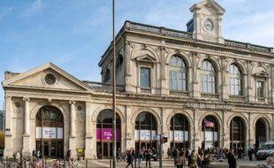 Gare de Lille-Flandres le 30 octobre 2014