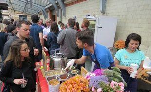 La première édition du Marché à manger avait attiré près de 4.000 personnes début juillet.