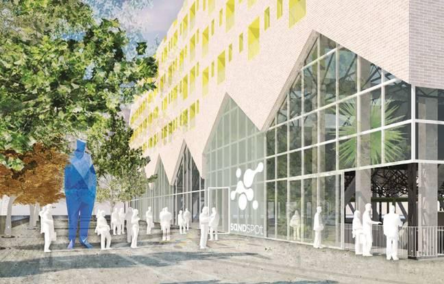Le projet Sand Spot dans le quartier Bastide Niel à Bordeaux