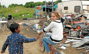 On compte entre 800 et 1200 Roms migrants sur l'agglomération nantaise.
