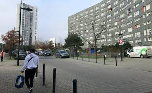 Dans une rue du quartier Malakoff à Nantes.