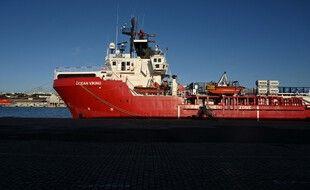 L'Ocean Viking, en décembre 2020, à Marseille. (archives)