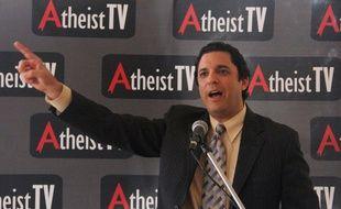 David Silverman, président de l'organisation American Atheists.