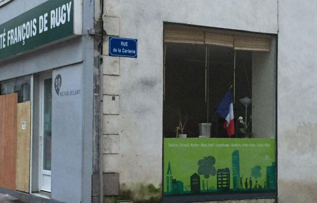 Le local de la permanence de François de Rugy.
