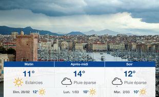 Météo Marseille: Prévisions du samedi 27 février 2021