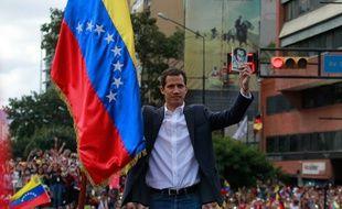 Le président du Parlement vénézuélien Juan Guaido s'est autoproclamé «président» par intérim, le 23 janvier 2019.