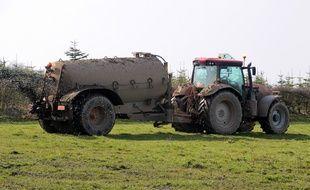 L'auteur présumé de l'agression est un agriculteur qui se serait vu reprocher un épandage interdit de lisier sur la neige.