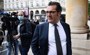 Didier Quillot, le directeur exécutif de la LFP, à son arrivée au Conseil d'Etat le 9 juin 2020.