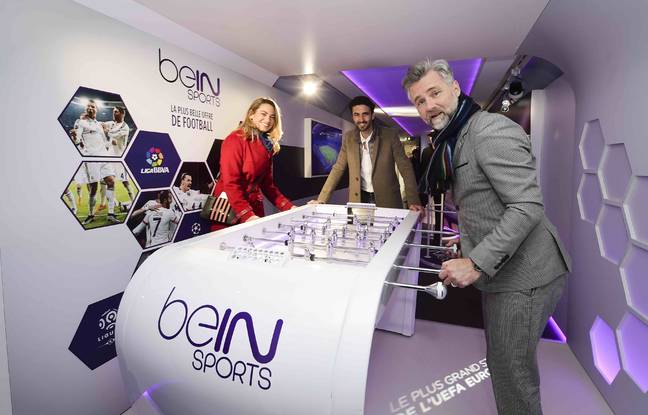 Trois journalistes de beIN Sports. (illustration)