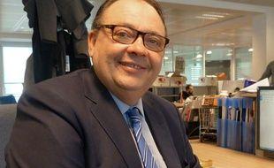 Patrick Mennucci, candidat à la mairie de Marseille
