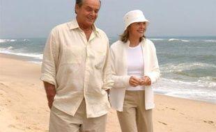 Jack Nicholson et Diane Keaton dans «Tout peut arriver»