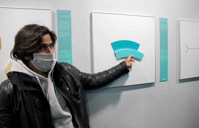 L'illusion de Jastrow, au Musée de l'Illusion, à Paris, le 14 mai 2020, en présence de son cofondateur, Steven Carnel.