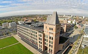 Le parc d'activité high-tech Euratechnologies, symbole d'une réussite.