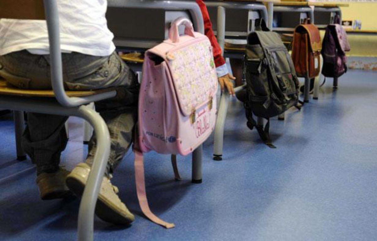 La rentrée scolaire 2010  dans une école primaire de Clamart dans les Hauts de Seine. – DURAND FLORENCE/SIPA