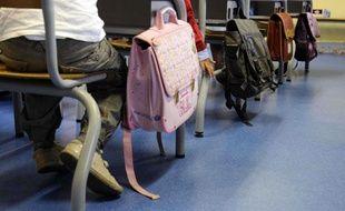 La rentrée scolaire 2010  dans une école primaire de Clamart dans les Hauts de Seine.