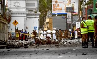 Plus de 320 personnes sont mortes dans des attentats suicides à Colombo, au Sri Lanka, le 22 avril 2019.