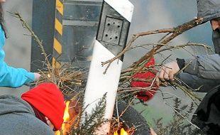 Un radar détruit samedi à Jugon-les-Lacs dans les Côtes d'Armor.