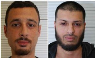 Le Britannique Mohammed Ali Ahmed et le Belge Zakaria Boufassil.