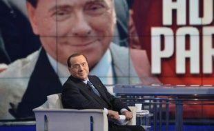 L'ancien président du Conseil italien Silvio Berlusconi le 22 mai 2014 à Rome