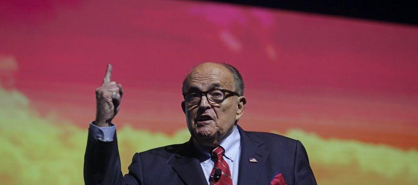 Rudy Giuliani, le 19 décembre 2019 à Palm Beach aux Etats-Unis.