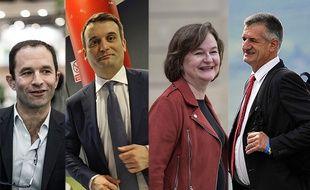 Benoît Hamon, Florian Philippot, Nathalie Loiseau et Jean Lassalle vont tenter de rafler un siège au Parlement européen.