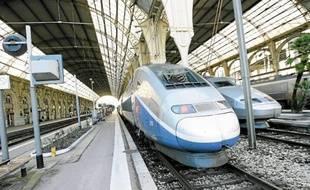 Il faut actuellement près de 2 h 50 pour relier Nice à Marseille par le chemin de fer.