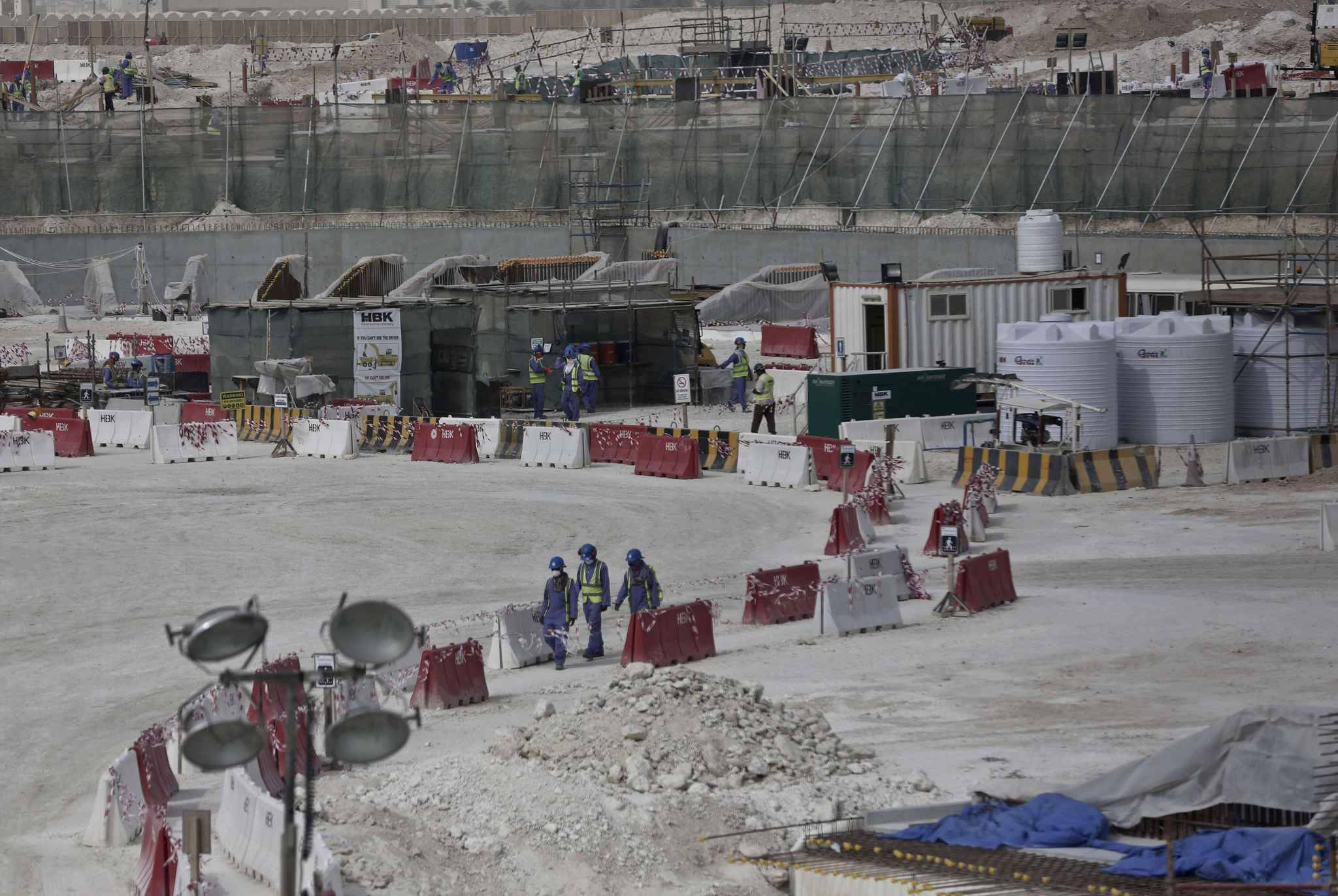Coupe du monde 2022 le qatar va planter arbres - Qatar football coupe du monde ...