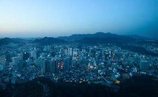 Vue de la ville de Séoul