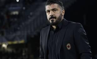 Gennaro Gattuso, l'entraîneur de l'AC Milan.