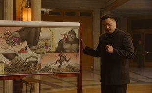 Christophe Tek campe Le Commandeur dans la série « Kim Kong », diffusée ce jeudi sur Arte.