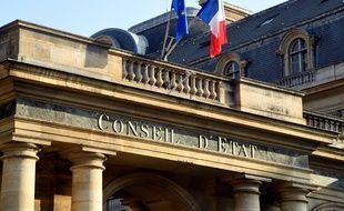 Le Conseil d'Etat, installé au Palais royal, à Paris. (illustration)
