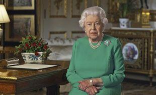 Elisabeth II, le 5 avril 2020.