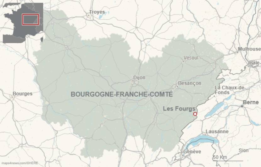 Doubs: Six tonnes d'excréments laissées à ciel ouvert après un festival