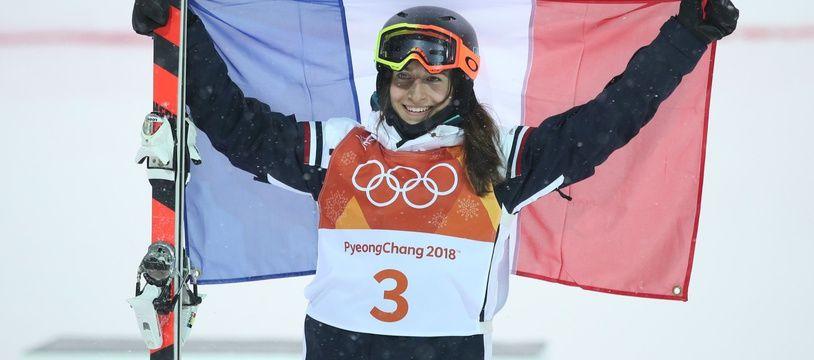 Perrine Laffont, Championne olympique aux JO de  PyeongChang.