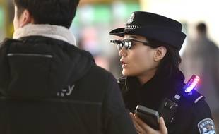 Un agent de la police chinoise. (illustration)