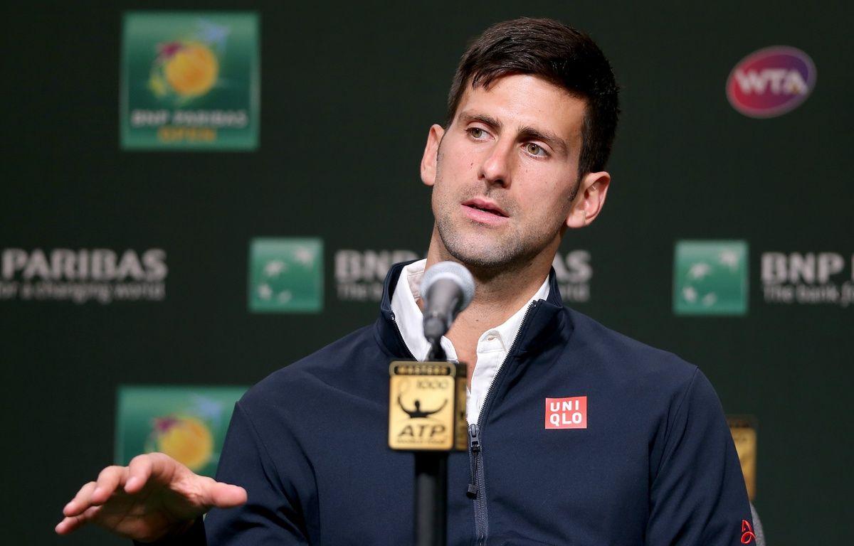 Novak Djokovic – MATTHEW STOCKMAN / GETTY IMAGES NORTH AMERICA / AFP