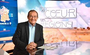 Jean-Pierre Pernaut, journaliste sur TF1 et LCI. Paris, FRANCE - 23/09/2018.