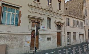 L'école publique Félix-Pyat à Marseille.