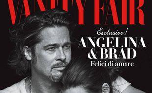 Brad Pitt et Angelina Jolie en Une du